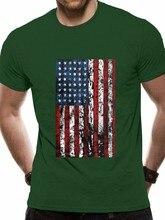 Bandeira americana do vintage t-camisa americana patriotismo eua bandeira masculina t s-3xl