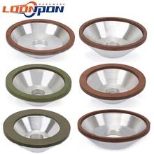 75/100/125/150/200 мм Алмазный шлифовальный круг кружка шлифовальный круг используется для полировки режущих дисков Фрезерный резак