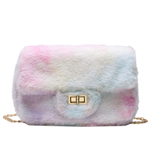 Luxury Handbags Women Bags Designer Fashion Faux Fur Shoulder Small Evening Clutch Crossbody For 2019