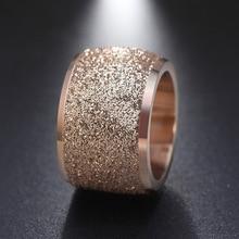 New Jewelry Titanium Steel Ring Ladies Fashion Prom Accessories