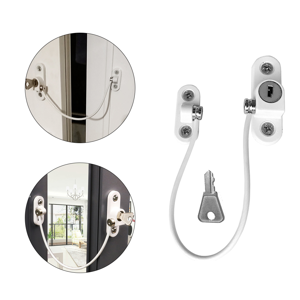 8Pcs/lot Child Protection Baby Security Cabinet Door Lock Door Retainers Home Use Safety Limiter Latch Infant Security Locks