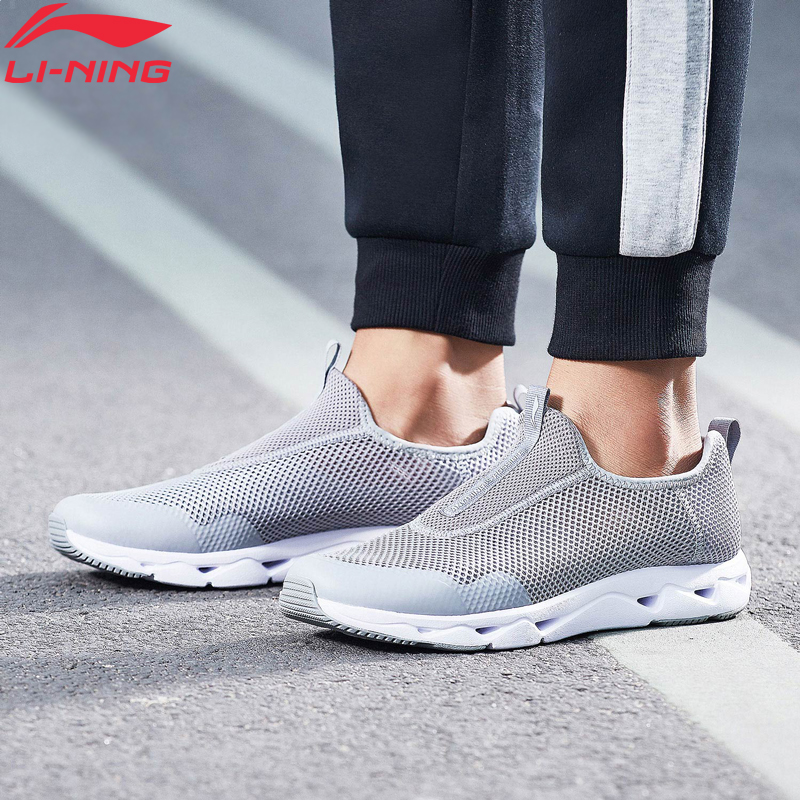 Li-Ning Men LN UPSTREAM Aqua Shoes Classic Lifestyle Shoes Breathable Light LiNing Li Ning Sport Shoes Sneakers AGCN045 YXB158