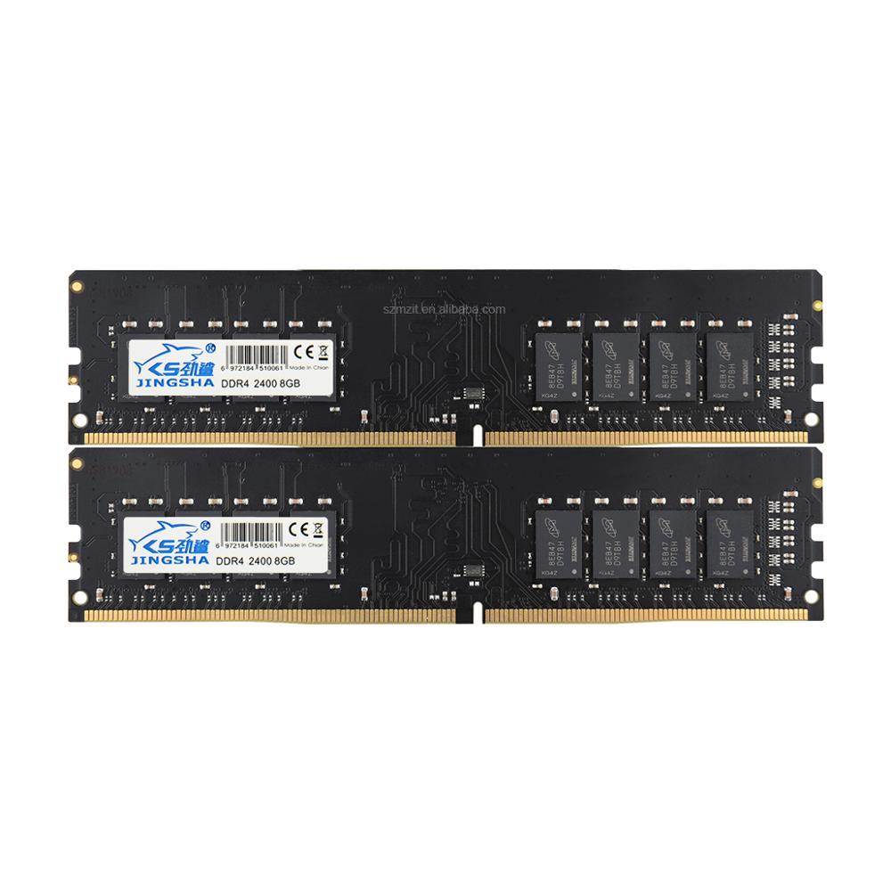 Suporte de Memória Jingsha Ram 2400 Mhz 2666 3000 Computador Dimm Desktop Placa-mãe Ddr4 8 gb 4