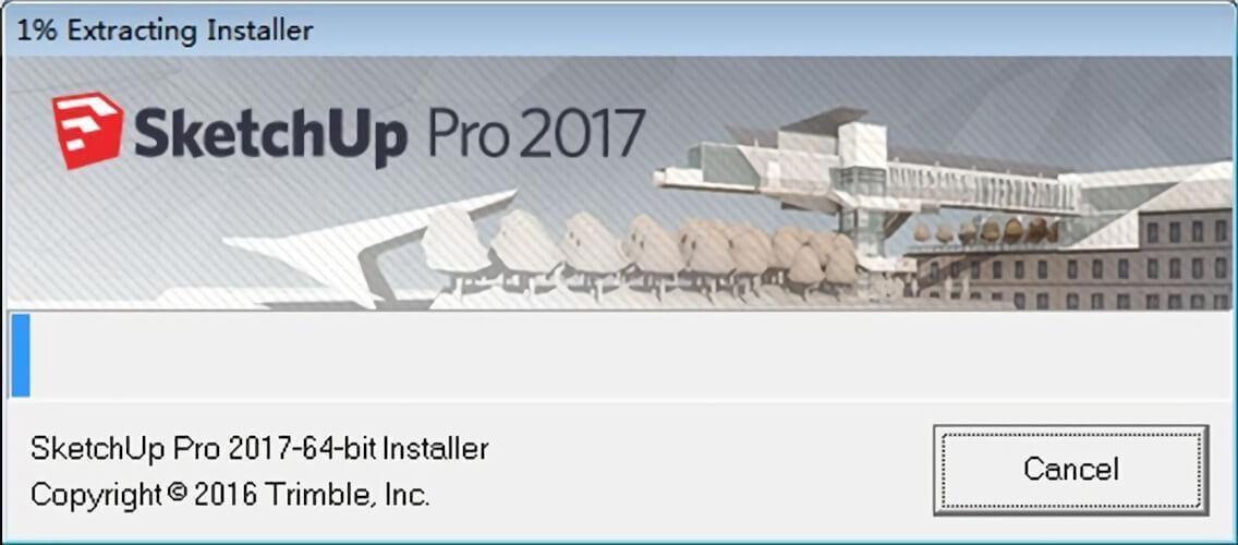 SketchUp 2017 草图大师,强大的3D建模工具