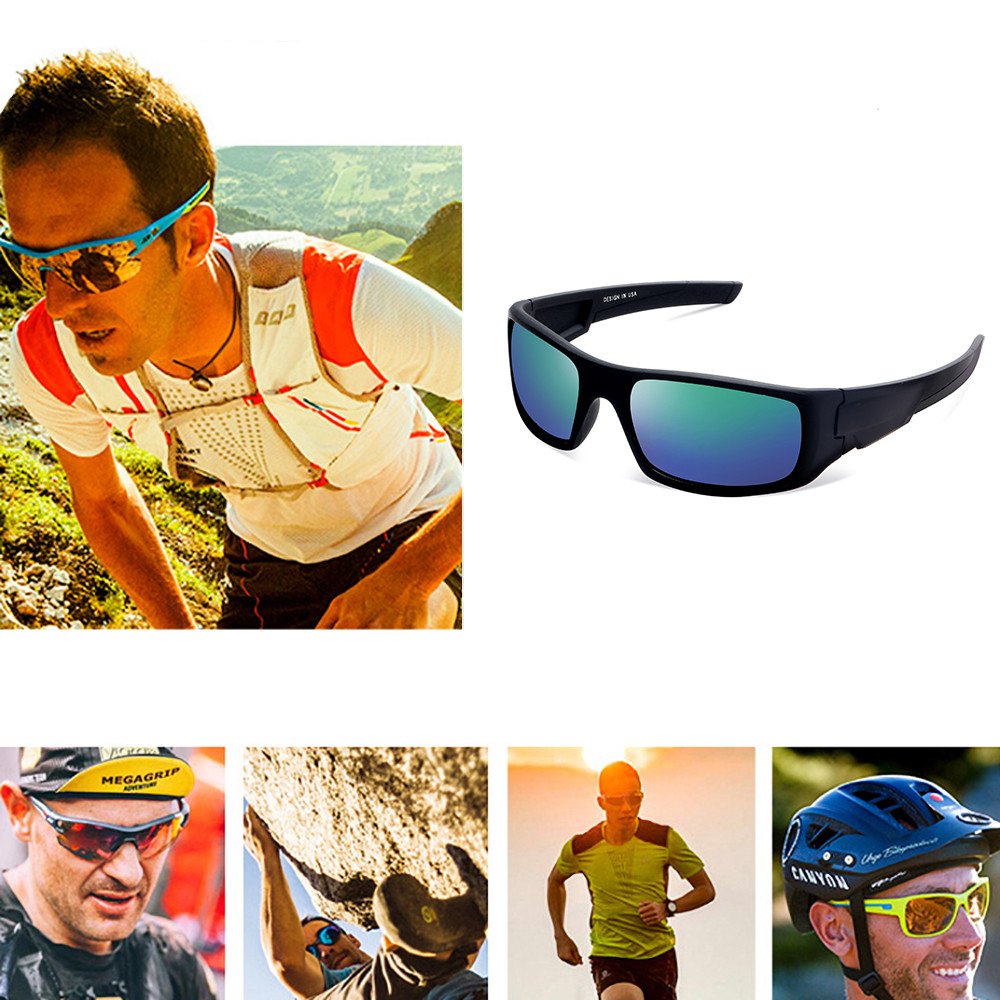 UV400 Sunglasses Lens Made of Unbreakable PC Material Cycling Driving Riding Safety Unisex Glasses Outdoor Sports Eyewear New #e