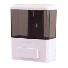 Ручная 350 мл емкость настенный диспенсер для мыла пластиковый диспенсер для мыла с одной головкой банные принадлежности для гостиницы