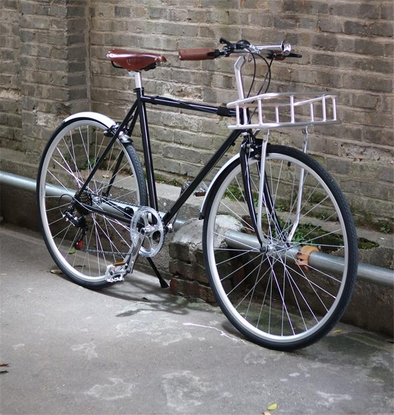 fixa para bicicleta, retrô, acessórios preto ou prático de bicicleta