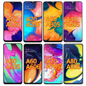 For SAMSUNG GALAXY A10 A105 A20 A205 A20E A202 A30 A305 A40 A405 A50 A505 A60 A606 A70 A80 A90 5G A908 LCD Display Touch Screen(China)