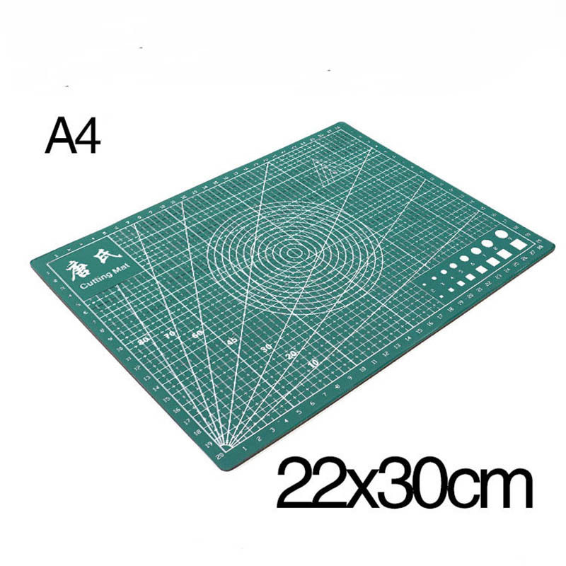 Cutting Mat Patchwork Tools Plate Pad Rectangle Grid Lines Double-Sided Self-Healing Fabric Leather Paper DIY Tools PVC