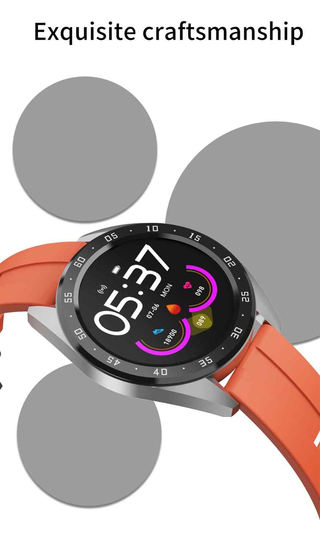 Reloj inteligente X10 IP67 Monitor de presión arterial a prueba de agua Bluetooth 4,0 reloj de pulsera Multideportivo para hombre y mujer