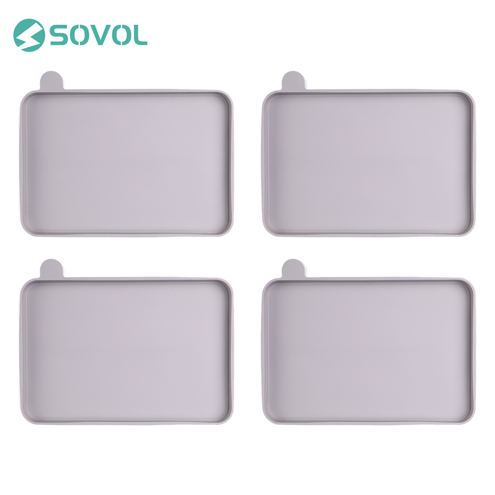 4 Pcs lot Sovol Silicone Covers 178 120 30mm for Resin Vat compatible with Anycubic Photon and Photon S