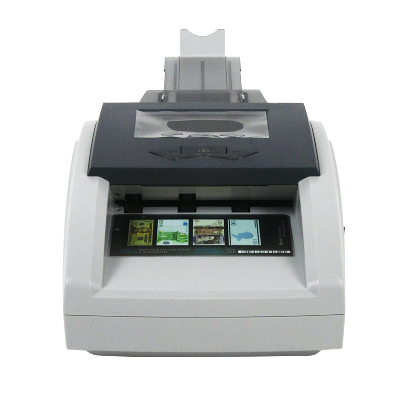 Counterfeit Money Detector Intelligent Detecting for the Euro/TRL/CHF/GBP Currency Detecting 6-8kinds fake money Detector