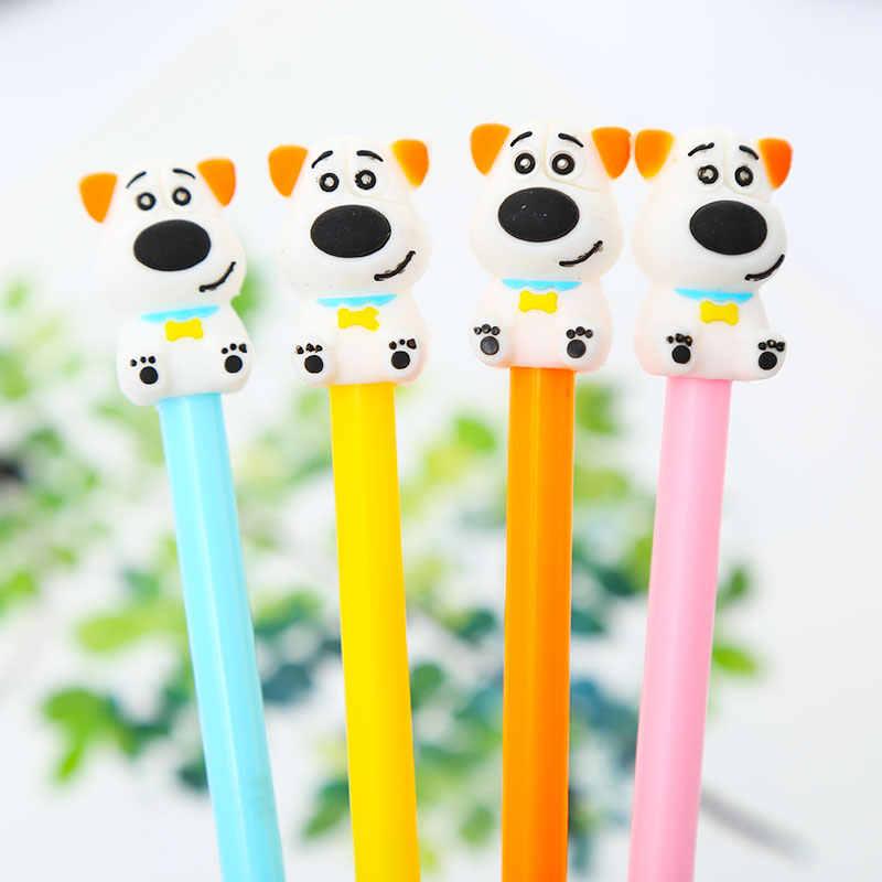 Kreatif Korea Cute Kawaii Labu Anjing Burung Gel Pena Keren Totoro Hewan Kawai Sekolah Kantor Pasokan Alat Tulis Hal Menyenangkan Kit pulpen