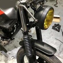 Аксессуары для колес закрылки толстый протектор мотоциклетный брызговик Ретро Профессиональный передний металлический универсальный для Honda CG125