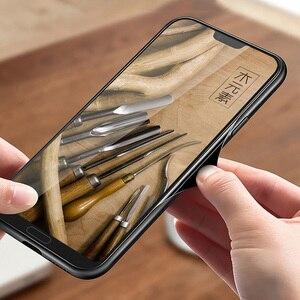 Image 3 - Luxo novo para xiao mi 10 caso de madeira fina capa traseira tpu pára choques caso em xiao mi 10 pro xio mi 10 casos de telefone