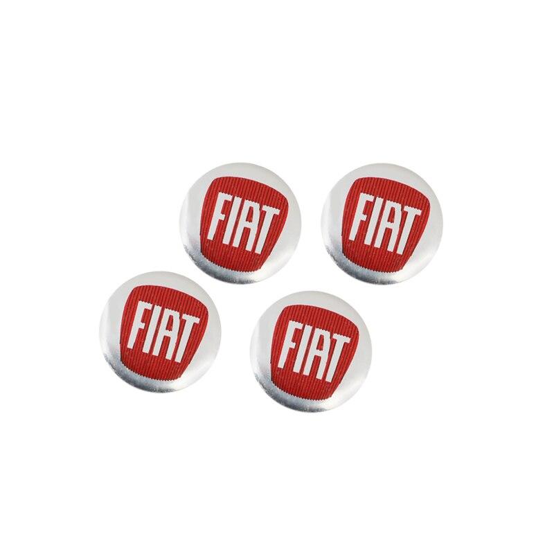 5 шт. 14 мм Автомобильный ключ с дистанционным управлением значок Логотип наклейки для Fiat 500 FR Punto Abarth Stilo Ducato Palio Bravo Pondo Tipo Viaggio Doblo