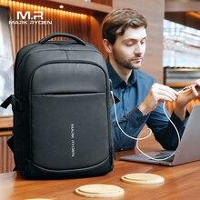 Mark Ryden 2020 adam sırt çantası çok fonksiyonlu su geçirmez 15.6 inç dizüstü bilgisayar çok katmanlı cepler çanta adam USB şarj okul sırt çantası
