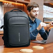 Mochila multifuncional impermeable para ordenador portátil de 2020 pulgadas, mochila escolar con bolsillos multicapa y carga USB para hombre, Mark Ryden 15,6