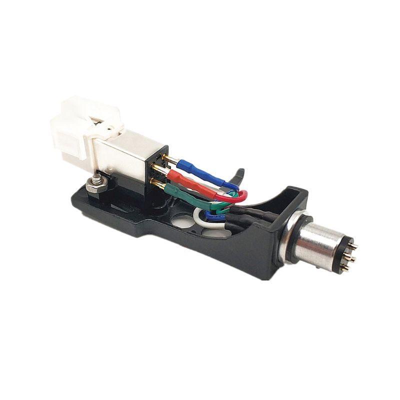 Universal Phono Stylus <font><b>Cartridge</b></font> Rack Turntable Headshell with <font><b>LP</b></font> Vinyl Needle for Record Player Accessories image