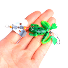 1pcs Hard Soft Frong Fishing Lure 9cm 5.8g Topwater Crankbait Wobblers Isca Artificial Bait For Bass Carp Pikes Lures
