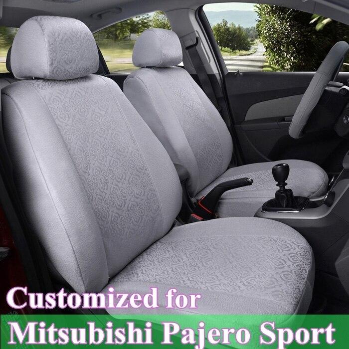 Convient pour les voitures MITSUBISHI PAJERO housses de si/ège BO-1 BEIGE SPORTS r