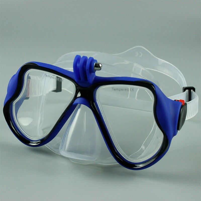 2019 маска для плавания для дайвинга для взрослых подводный ремешок дыхательная маска для плавания под водой для камеры Go Pro (не