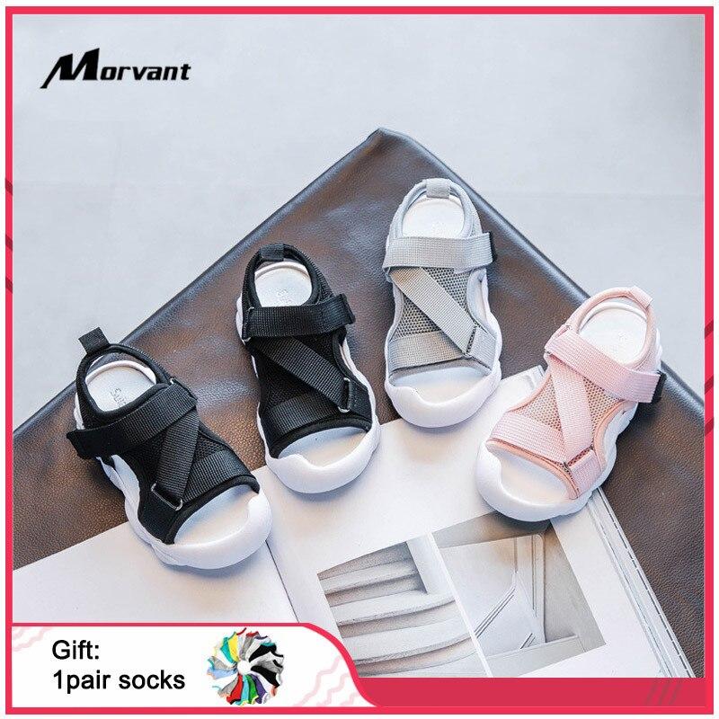 Baby Girls Sandals Summer Toddler Children's Sandals Comfortable EVA Sole Baby Shoes Non-slip Wear-resistant Kids Sandal