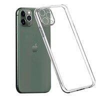 Custodia morbida in TPU trasparente per Apple iPhone 12 Mini 12Pro 5s 5 SE 2020 7 8 6 6S Plus 11 Pro Max XS X R XR 5C accessori iPhone12