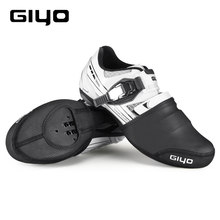 Giyo Fietsen Schoenen Cover P-Alm Half Teen Winddicht Slijtvaste Warm Mtb Mountain Road Lock Bike Protector boot Bovenste Case(China)
