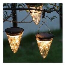 Luzes led ao ar livre à prova dwaterproof água paisagem solar decoração férias casa de campo jardim para casa campo cercas acampamento lâmpada