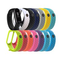 1pcs Smart Accessories For Xiaomi Miband 3 Wristband Strap Replacement Mi Band Bracelet