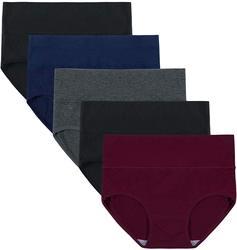 15 stück frauen Hohe Taille Bauch Einfarbig Schriftsätze Pantie2019 Kaschmir Overalls Baumwolle