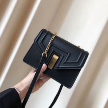Fashion Stone Pattern Shoulder Bag For Women Small Flap Bag Chic Chain Messenger Crossbody Bags Casual Solid Color Handbags color block flap chain bag