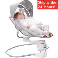 Entrega rápida! Cadeira de balanço do bebê berço elétrico cadeira de balanço para apaziguar o bebê artefato rápido para sleepcrib