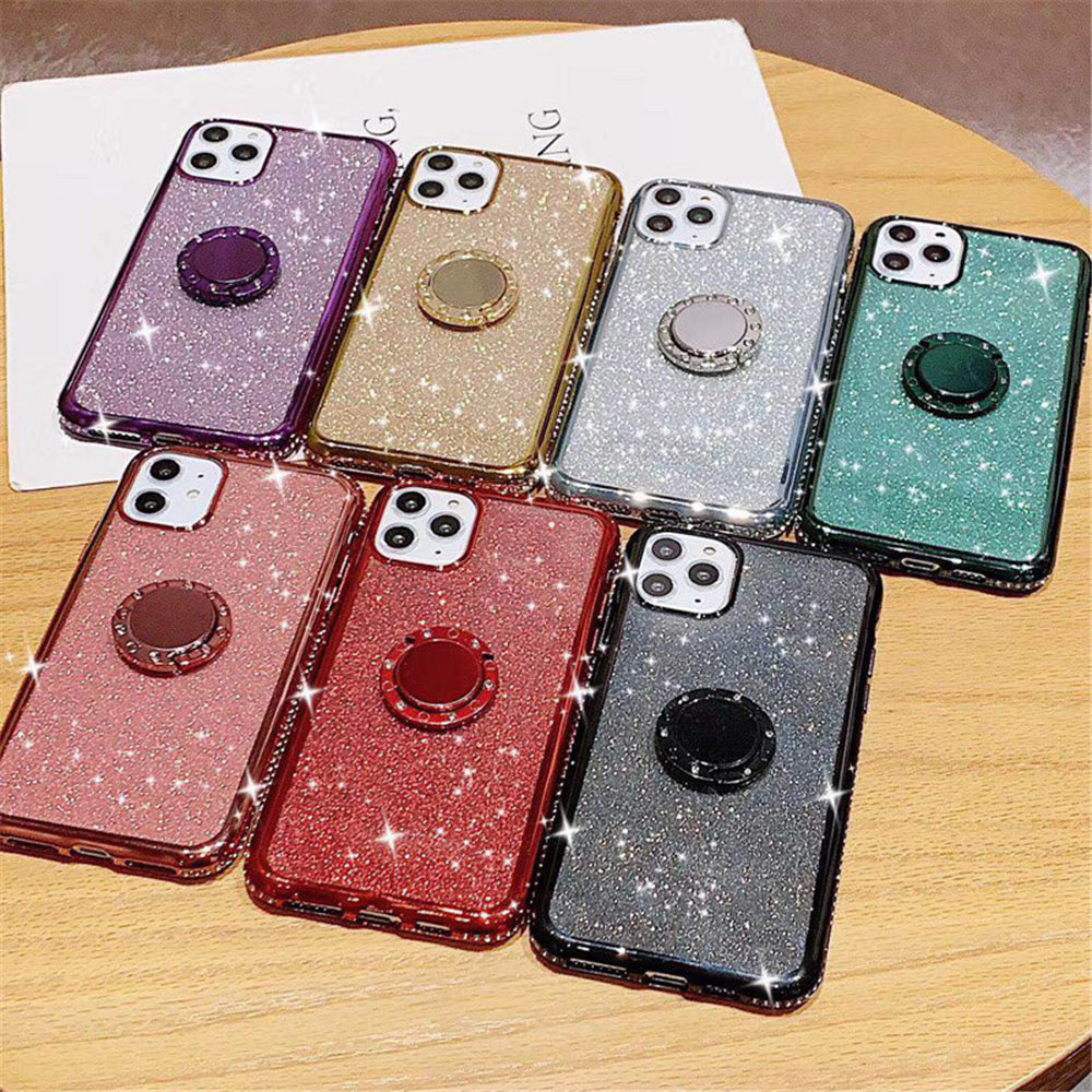 Jewelled Clear iPhone Case 1