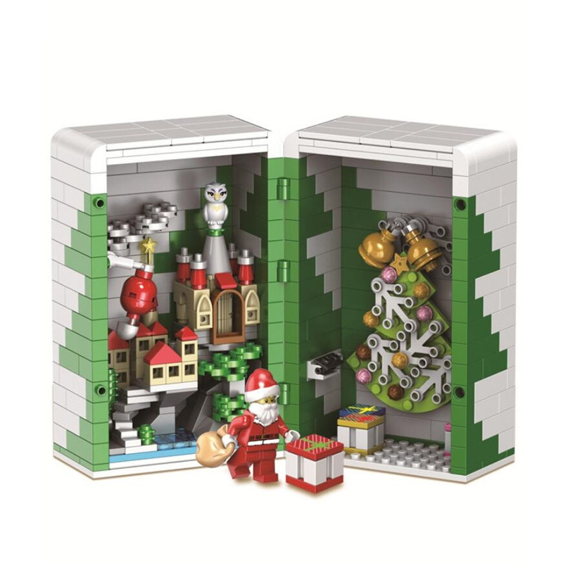 2019 New Christmas Sets Winter Village Train Model Building Kits Blocks Bricks Kids With Legoinglys Friends Christmas Toys