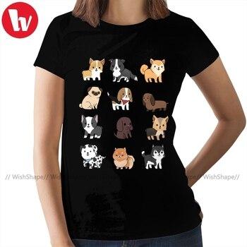 Yorkshire Terrier T-Shirt Dogs T Shirt Trendy XL Women tshirt Short-Sleeve 100 Cotton Ladies Tee Shirt death note t shirt misa deathmetal t shirt mens short sleeve tee shirt cute 6xl 100 cotton print beach tshirt
