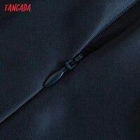 Tangada Women Cut-out Sexy Dress Sleeveless Backless 2021 Fashion Lady Party Midi Dresses 3H850 5