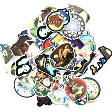 110PCS Japanese Movie Neighbor Totoro Cute  Stickers for Stationery Trunk Cartoon PatchMotif DIY scrapbooking sticker scrapbook kawaii my neighbor totoro cartoon 3d stickers diary sticker scrapbook decoration pvc stationery stickers