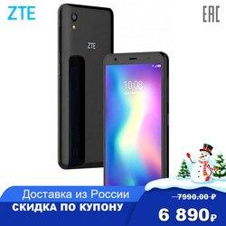 Смартфон ZTE Blade A5 2020 15,5 см (6.09дюйм) 19.5:9 1560 x 720, 4x1,6 ГГц+4x1,2 ГГц, 8 Core, 2GB RAM, 32GB, 13Mpix+2Mpix/8Mpix