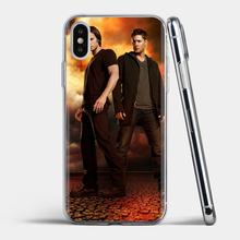 Supernatural tv logo Soft Bag Case For iPhone 11 Pro 4 4S 5 5S SE 5C 6 6S 7 8 X XR XS Plus Max For iPod Touch(China)