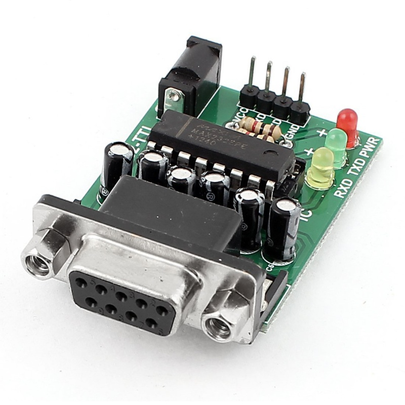 TTL RS 232 Serial Adapter Module COM MAX 232 CPE Table Chip Wall Sticker