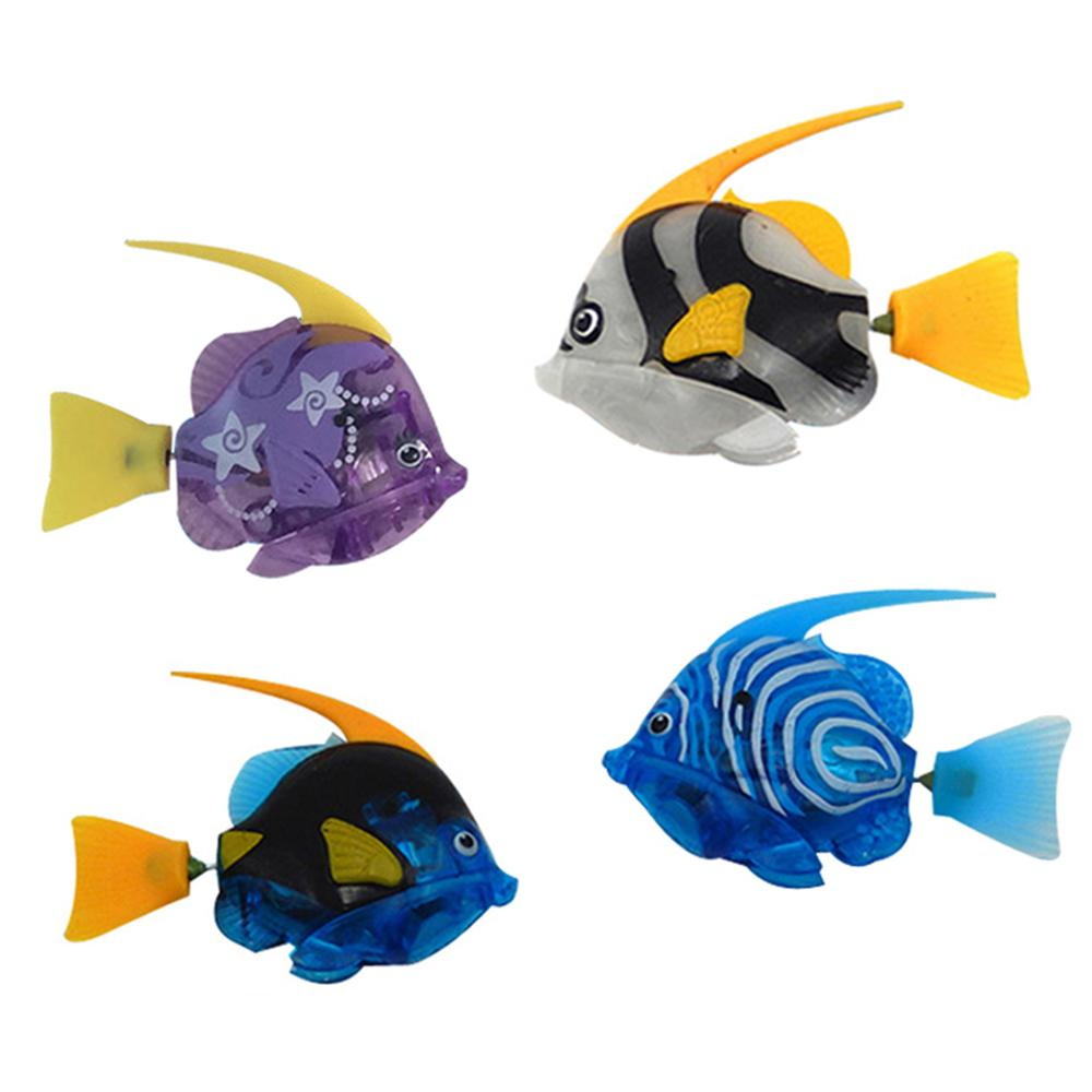 Funny Swimming Fish Activated In Water Magical Electronic Toy Bathtub Toys Swimming Fish Toy Swimming Electronic Fish