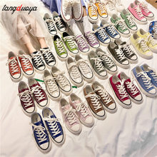 Canvas shoes women Spring Autumn Casual Breathable