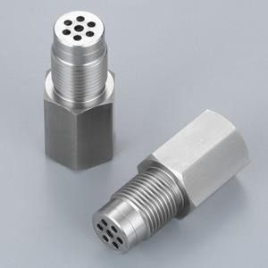 Image 2 - Yetaha 2 pièces CEL éliminateur avec Mini convertisseur catalytique pour M18 X 1.5 filetage O2 capteur entretoises moteur lumière