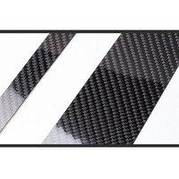 Carbon Fiber Car Window B pillars Decorative Sticker For BMW E60 E90 F30 F10 F20