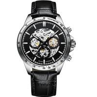 AILANG Men's Watch 2020 New Mechanical Watch Full Automatic Luminous Waterproof Black Technology 316L Stainless Steel Watch