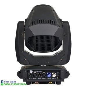 Image 5 - 2 шт./лот 260 Вт Светодиодный точечный светильник 3 в 1 движущийся головной светильник 2 грани вращение призмы шесть призматических светодиодных движущихся головок DJ Диско сценическое освещение