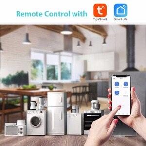 Image 5 - Tuya Smart Wifi Circuit Breaker 2P Automatische Schakelaar Overbelasting Kortsluiting Alexa Google Home Compatibel Smart Leven
