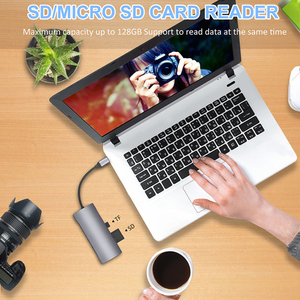 Image 5 - 9/5/4 in one TYPE C Docking Station Multi function high quality Carbon alloy USB 3.0 HDMI for Samsung Macbook Pro DELL Surface